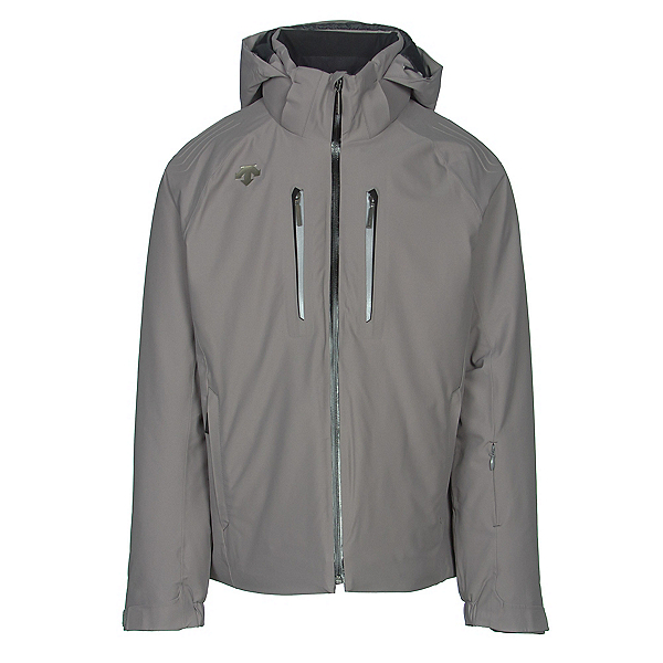 Descente Rogue Mens Insulated Ski Jacket, Gray, 600