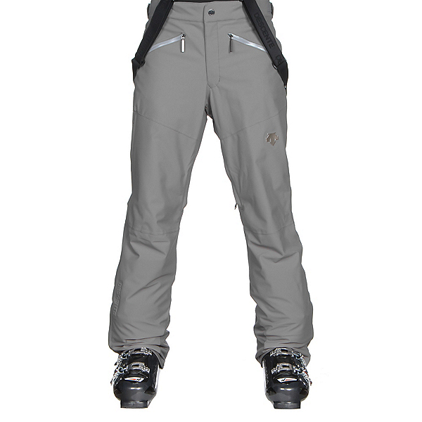 Descente Peak Mens Ski Pants, Gray, 600