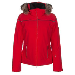 Descente Raven Womens Insulated Ski Jacket, Electric Red, 256