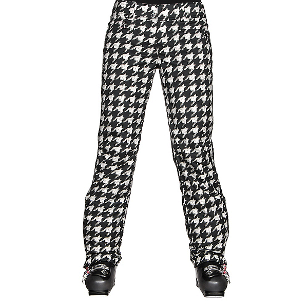 Descente Selene Print Womens Ski Pants, Chidori White, 600