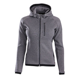 Descente Lauren Womens Jacket, Gray-Black, 256
