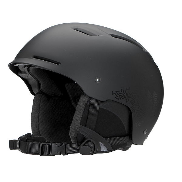 Smith Pointe Womens Helmet, Matte Black New Wave, 600