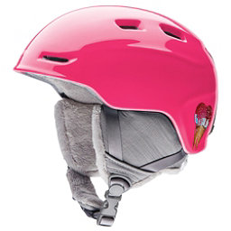 Smith Zoom Jr. Kids Helmet, Pink Sugarcone, 256