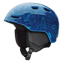 Smith Zoom Jr. Kids Helmet, Lapis Toolbox, 256