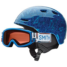 Smith Zoom Jr. & Sidekick Combo Kids Helmet, Lapis Toolbox, 256