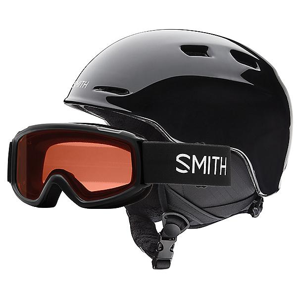 Smith Zoom Jr. & Sidekick Combo Kids Helmet, Black, 600