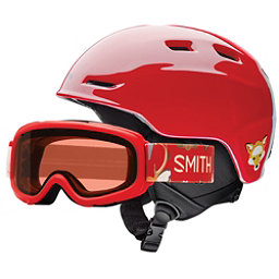 Smith Zoom Jr. and Gambler Combo Kids Helmet, Fire Animal Kingdom, 256