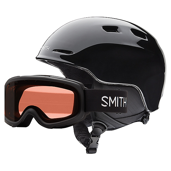 Smith Zoom Jr. and Gambler Combo Kids Helmet 2021, Black, 600