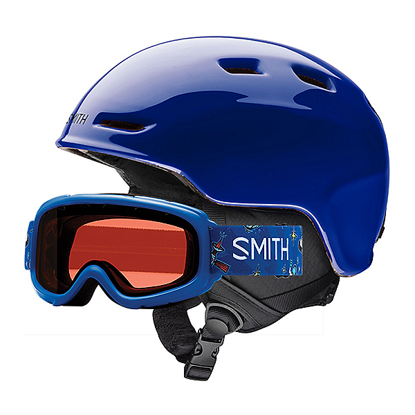Smith Zoom Jr. and Gambler Combo Kids Helmet 2018, Cobalt, 600