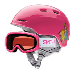Smith Zoom Jr. and Gambler Combo Kids Helmet 2018, Pink Popsicles, 256