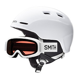 Smith Zoom Jr. and Gambler Combo Kids Helmet 2018, White, 256