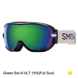 Smith Virtue Womens Goggles, Midnight Brighton-Green Sol X, 256