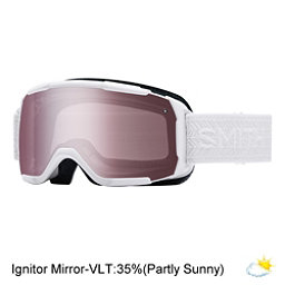 Smith Showcase Womens OTG Goggles, White Eclipse-Ignitor Mirror, 256