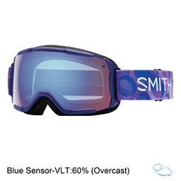Smith Grom Girls Goggles, Ultraviolet Dollop-Blue Sensor, 256