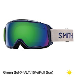 Smith Grom Girls Goggles, Midnight Brighton-Green Sol X, 256
