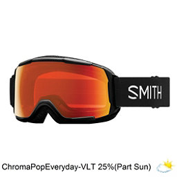Smith Grom Kids Goggles 2018, Black-Chromapop Everyday Red M, 256