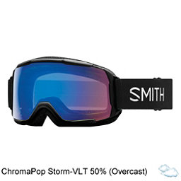 Smith Grom Kids Goggles 2018, Black-Chromapop Storm Rose Fla, 256