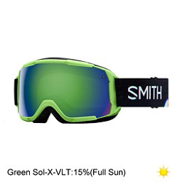 Smith Grom Kids Goggles 2018, Reactor Tracking-Green Sol X M, 256