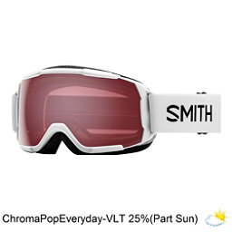 Smith Grom Kids Goggles 2018, White-Chromapop Everyday Rose, 256