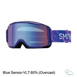 Smith Daredevil Girls Goggles, Ultraviolet Dollop-Blue Sensor, 256