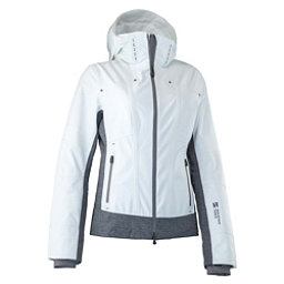 Mountain Force Rider Womens Insulated Ski Jacket, White Linen, 256