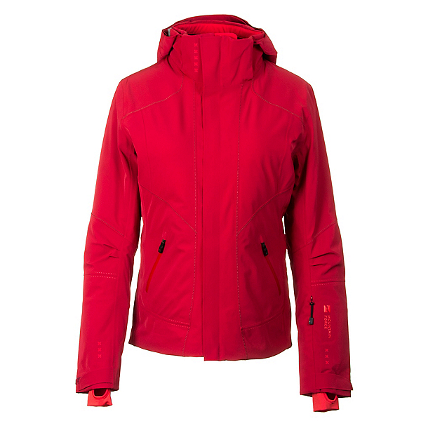 Mountain Force Samara Down Womens Insulated Ski Jacket, Chili-High Risk Red, 600
