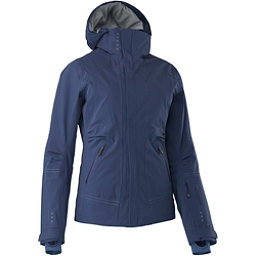 Mountain Force Samara Down Womens Insulated Ski Jacket, Peacoat-Indigo Blue, 256