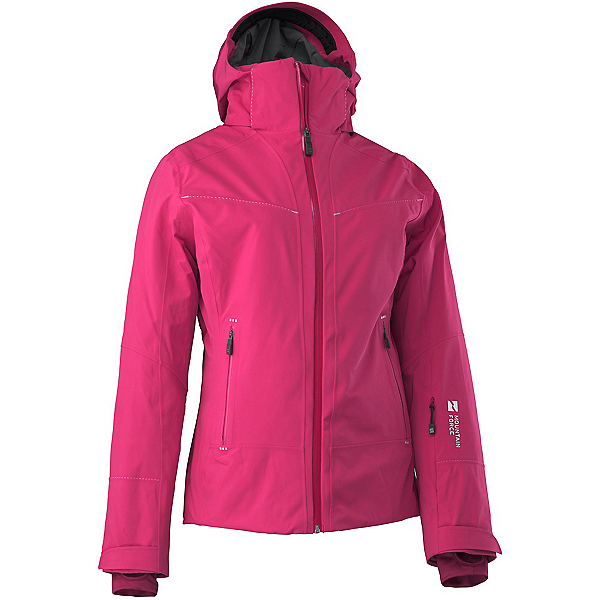 Mountain Force Elise Womens Insulated Ski Jacket, Cerise, 600