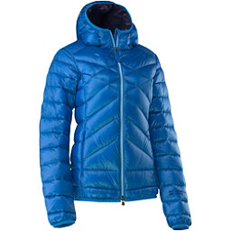 Mountain Force Cassia Down Womens Jacket, Sky Blue Tweed-Peacoat, 256