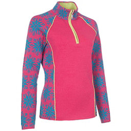 Neve Designs Ali Zip-Neck Womens Sweater, Blossom, 256