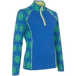 Neve Designs Ali Zip-Neck Womens Sweater, Ocean, 256