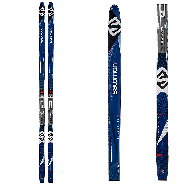 Salomon Snowscape 7 Cross Country Skis with Bindings, , 600