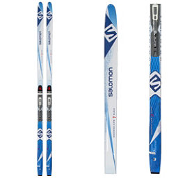 Salomon Snowscape 7 Siam Womens Cross Country Skis with Bindings, Black, 256