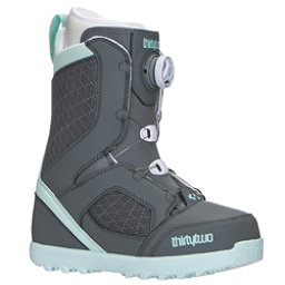 ThirtyTwo STW Boa Womens Snowboard Boots, Grey, 256
