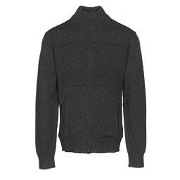 KJUS Julier Mens Sweater, Black Melange, 256