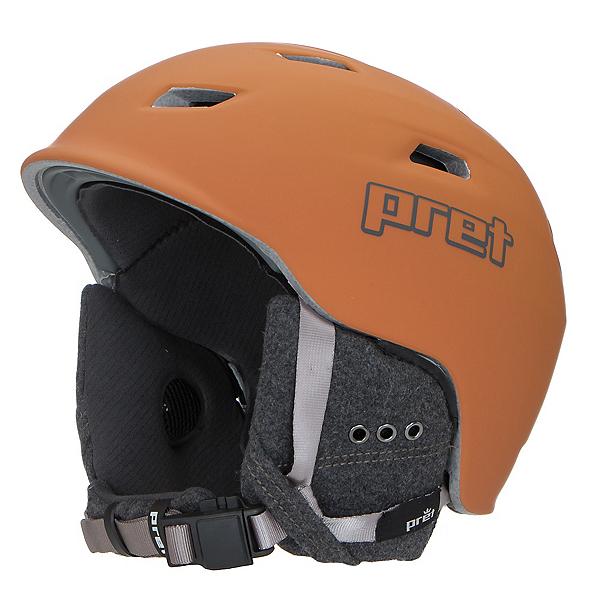 Pret Shaman Helmet, Rubber Habanero, 600