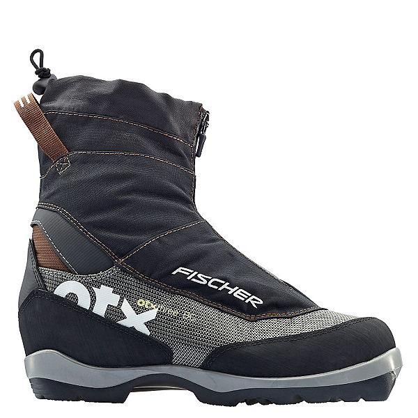 Fischer Off Track 3 BC NNN BC Cross Country Ski Boots, Black-Silver, 600