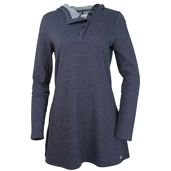 Purnell French Terry Tunic, Heather Blue, 600