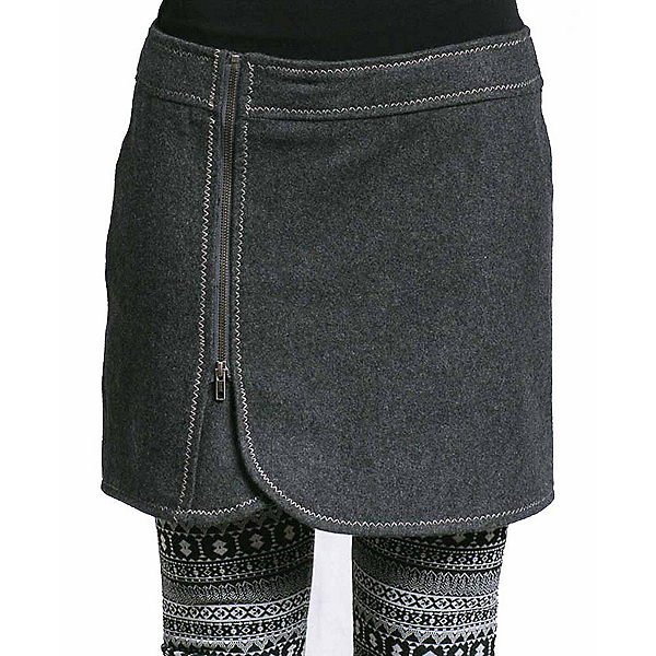 Purnell Wool Zip Skirt, , 600