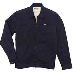 Purnell Canvas Sherpa Lined Mens Jacket, Navy, 256