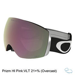 Oakley Flight Deck Goggles 2018, Matte Black-Prizm Hi Pink Irid, 256