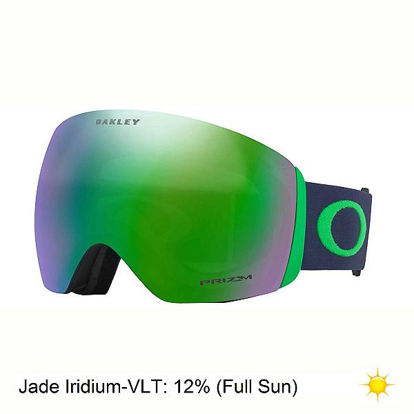 Oakley Flight Deck Goggles 2018, Fathom Navy-Prizm Jade Iridium, 600