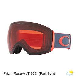 Oakley Flight Deck Goggles 2018, Wet Dry Red Iron-Prizm Rose, 256