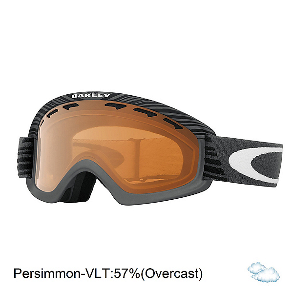 Oakley O2 XS Shaun White Kids Goggles, Echelon Forged Iron-Persimmon, 600