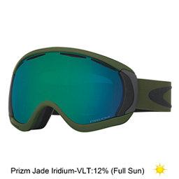 Oakley Canopy Prizm Goggles, Army Green Iron-Prizm Jade Iridium, 256