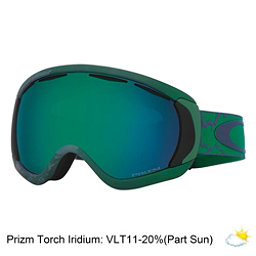 Oakley Canopy Prizm Goggles, Chemist Jade Green-Prizm Jade, 256