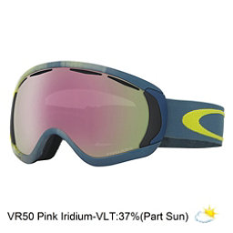Oakley Canopy Prizm Goggles, Obsessive Lines Citrus-Vr50 Pink, 256
