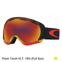 Oakley Canopy Prizm Goggles, Wet Dry Fire Green-Prizm Torch Iridium, 256