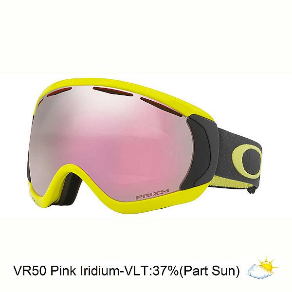 Oakley Canopy Prizm Goggles, Iron Laser-Prizm Hi Pink Iridi, 600