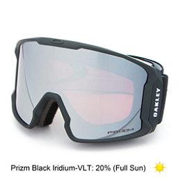 Oakley Line Miner Prizm Goggles 2018, Matte Black-Prizm Black Iridiu, 256